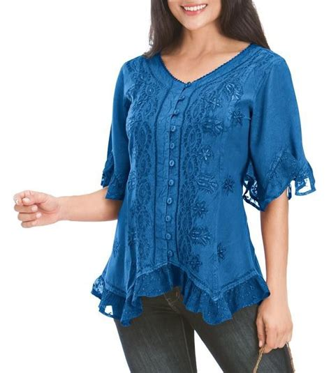 Exclusive Recomended Blouse Sweater Blouse Rajut Murah Sweater 37 best ruffle blouse images on lace detail lace trim and ruffle blouse