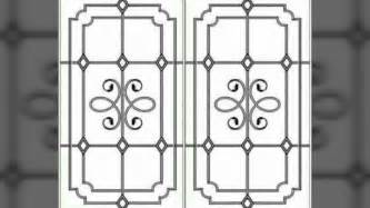 window grill design for modern homes