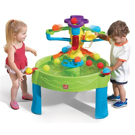 busy play table sand water play step2