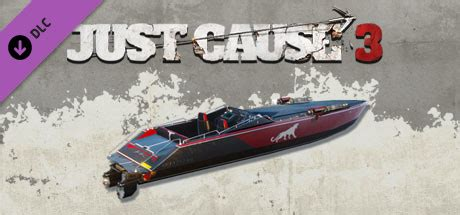 car boat just cause 3 just cause 3 mini gun racing boat on steam