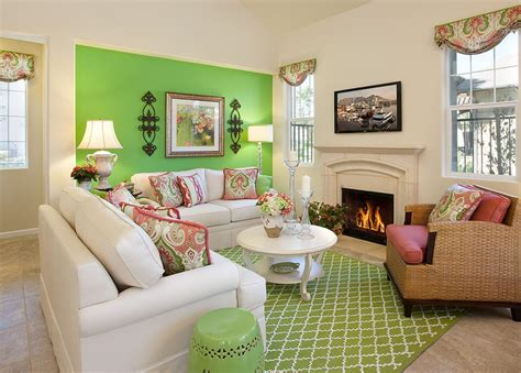 Imaginative Pink And Green Rooms With Colorful Wall Pink And Green Room