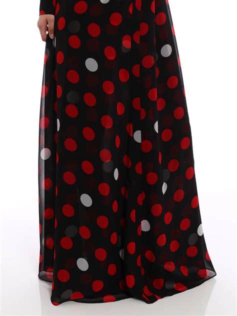 Maxi Lilin Polka Dress Maxi polka dot maxi dress by mcq maxi dresses ikrix