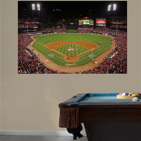 baseball stadium wall mural 1000 images about st louis cardinals baseball diy bedroom decor on cardinals