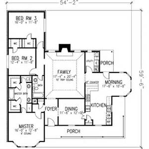 House Plan 1978 by Farmhouse Style House Plan 3 Beds 2 Baths 1978 Sq Ft