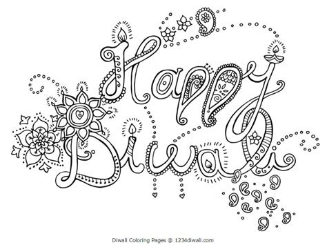 Diwali Coloring Page Az Coloring Pages Diwali Coloring Pages