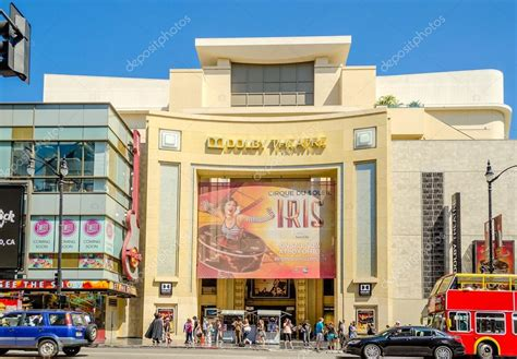 Im In Los Angeles For The Oscars by Dolby Theatre In Boulevard Los Angeles Stock