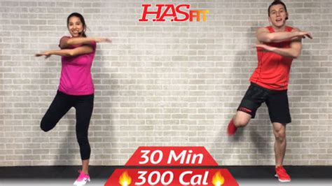 min  impact cardio workout  beginners hasfit