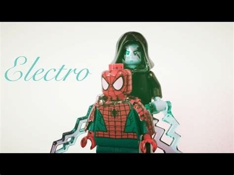 Lego Amazing Spider 2 Electro Misp lego the amazing spider 2 electro custom minifigure
