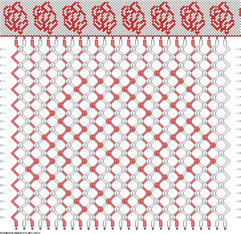 pattern heart friendship bracelet 39012 friendship bracelets net