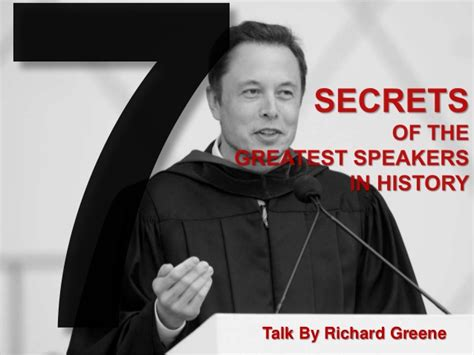 7 Facts On Greene by 7 Secrets Of The Greatest Speakers In History By Richard