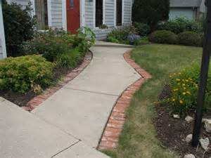 landscaping front landscaping ideas using bricks
