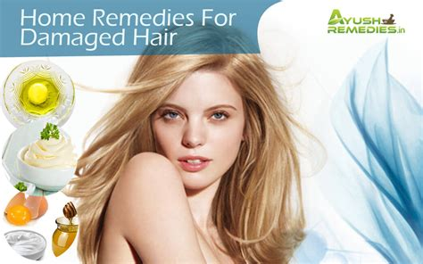 6 effective home remedies for damaged hair get glorious
