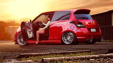 Auto Tuning Frauen by Cars Hd Wallpaper And Background Image
