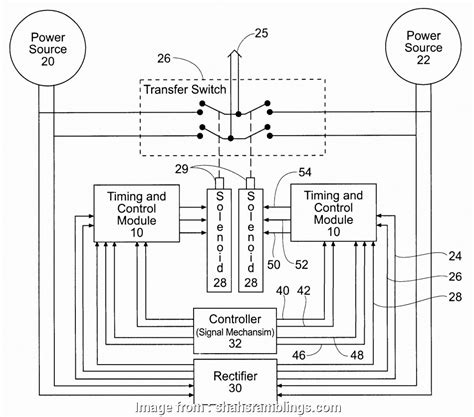 reliance transfer switch wiring diagram wiring diagram