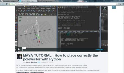 tutorial python maya 40 best images about python mel and other useful coding