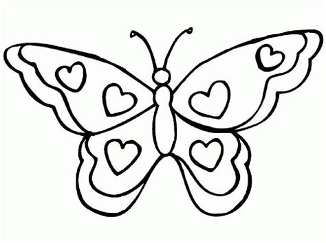 Free Printable Butterfly Coloring Pages For Kids 17 For Childrens Colouring Pages Free