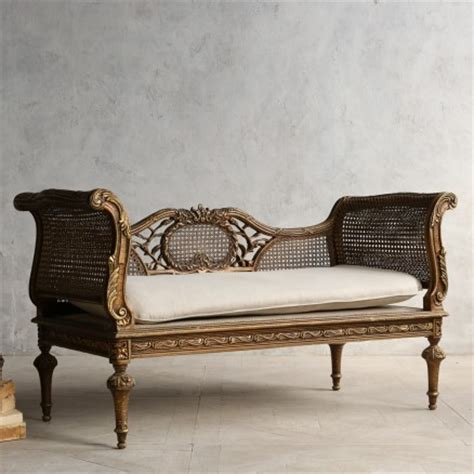 cane settee eye for design decorating with french cane settees