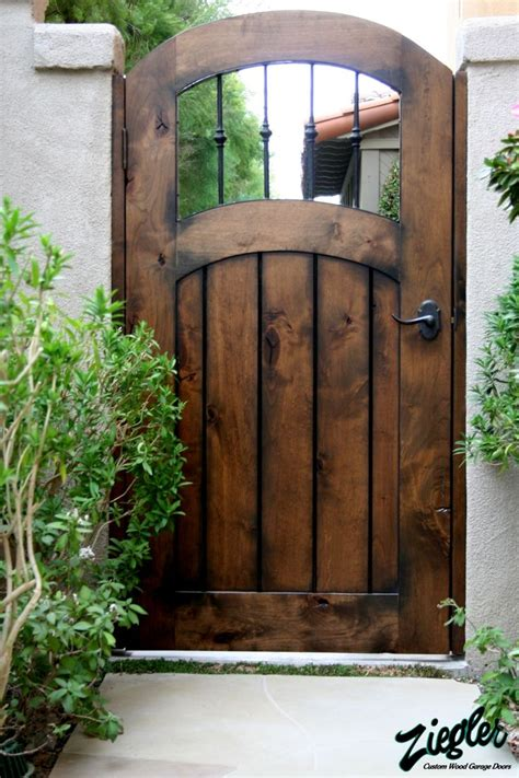 gates for backyard another side gate idea garden magic pinterest