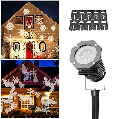 christmas slides for projector outdoor lighting projectors gorgeous ideas for lights projected on your