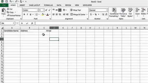 How To Track The Recruiting Process In Microsoft Excel Ms Word Excel Youtube Recruitment Tracker Excel Template