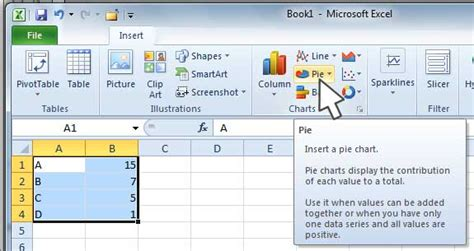 tutorial excel starter 2010 microsoft excel starter 2010 templates how to make a pie