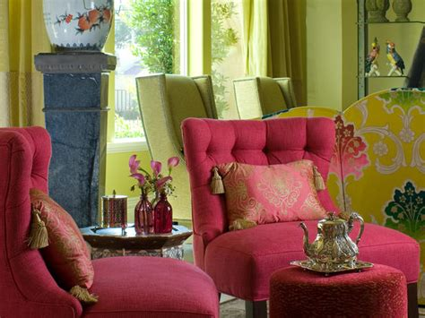 pink living room chair green transitional sitting room with asian inspired