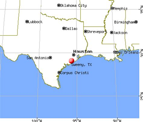 map of sweeny texas sweeny texas tx 77480 profile population maps real estate averages homes statistics