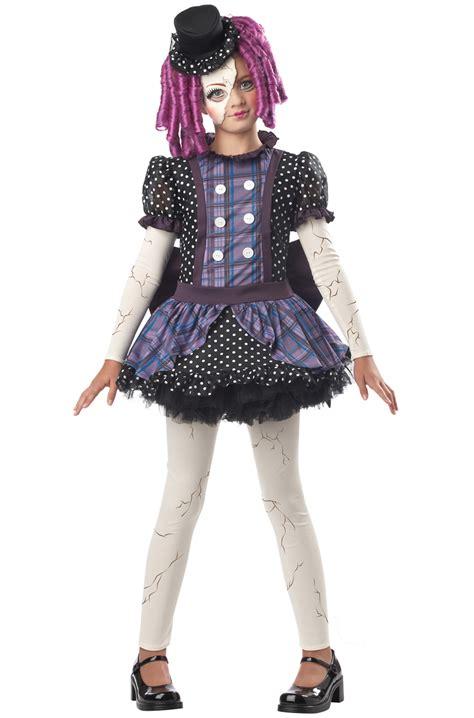 broken doll child costume purecostumescom