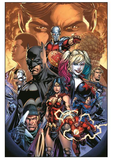 Kaos Gildan Dc Comics Justice League 01 villain team for justice league vs squad revealed ign