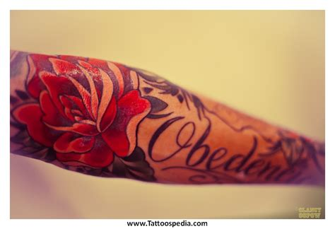 rose tattoos with names in them tony baxter
