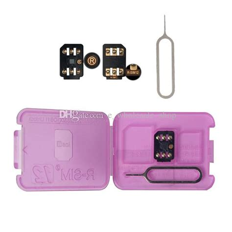 rsim 12 r sim 12 rsim12 iphone unlock card for iphone 8 iphone 7 plus and i6 unlocked ios 11