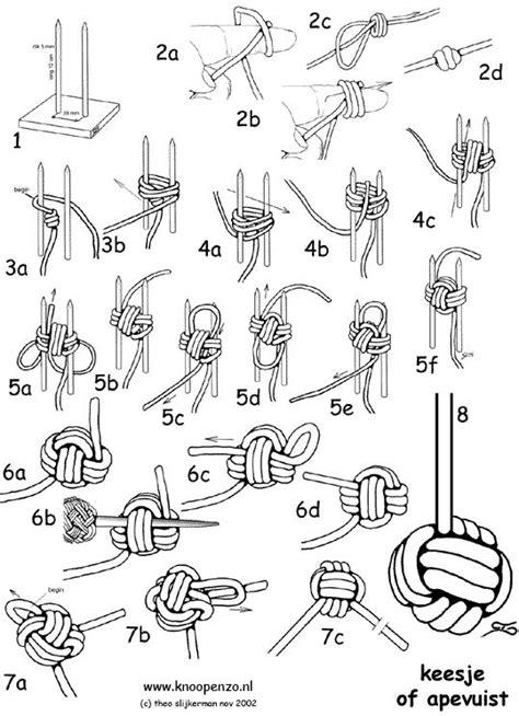 Best 25  Monkey fist knot ideas on Pinterest   Rope knots, Monkey knot and Knots