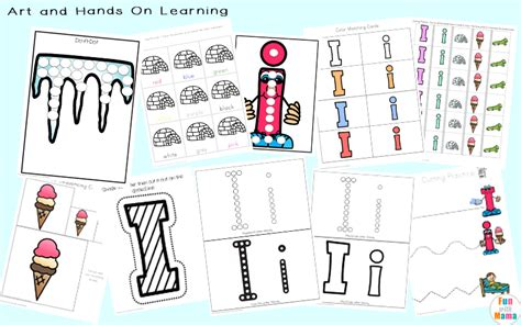 kindergarten activities youtube letter i activities for preschool kindergarten pack