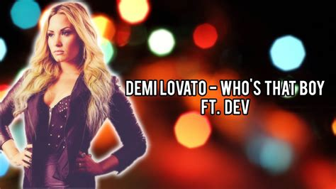 Who S That Boy Feat Demi Ab S Cover | demi lovato who s that boy ft dev lyrics youtube