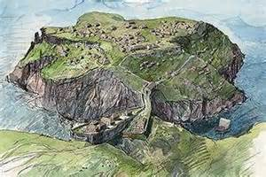 Small Houses That Look Like Castles by Tintagel Castle English Heritage