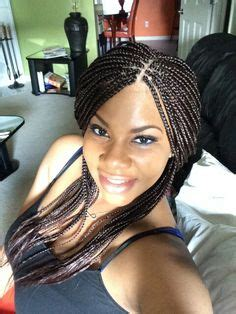 small box braids with loose ends small box braids loose ends braid styles pinterest