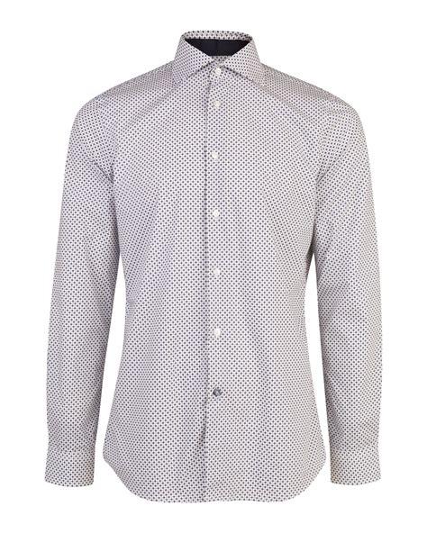 Cotton Slim Fit heren slim fit finest cotton overhemd 80073833 we fashion