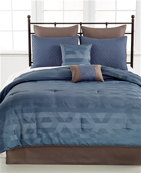 macy bed in a bag closeout radcliffe 8 piece king comforter set bed in a