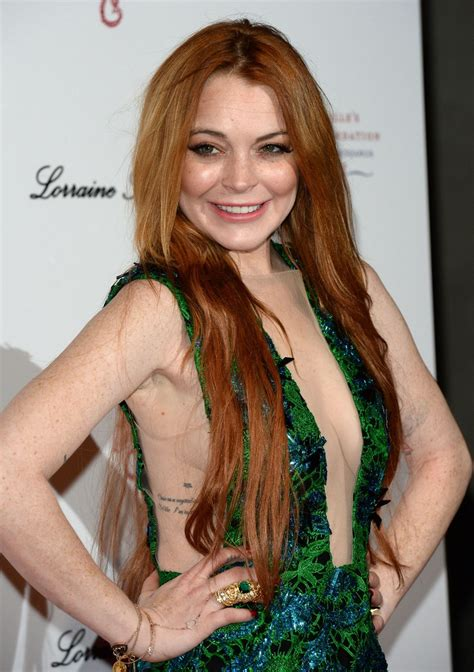 Lindsay Lohan by Lindsay Lohan At Gabrielle S Gala 2014 In