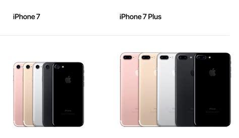 toutes les specs de l iphone 7 et les diff 233 rences notables avec l iphone 6s