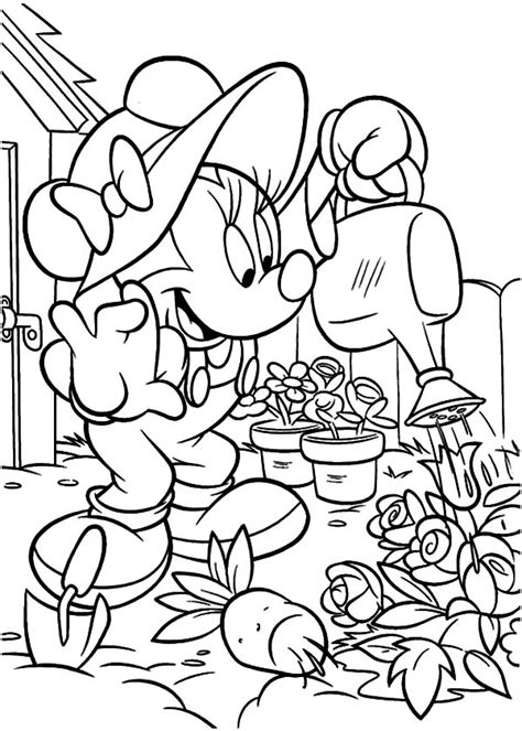 coloring pages of garden tools free coloring pages of garden tools