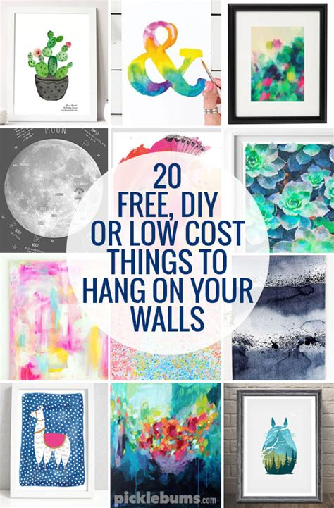 things to hang on your bedroom wall diy abstract wall art
