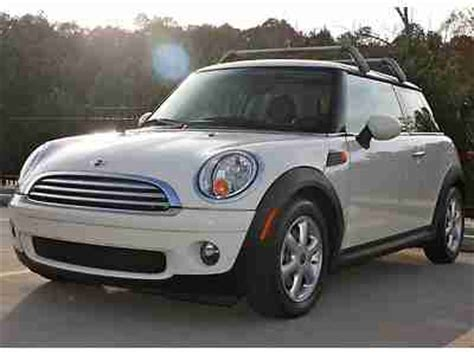 Roof Rack Mini Cooper by Purchase Used 2009 Mini Cooper Panoramic Roof Roof Rack