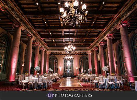 wedding venue los angeles hotel millennium biltmore hotel los angeles wedding jason and