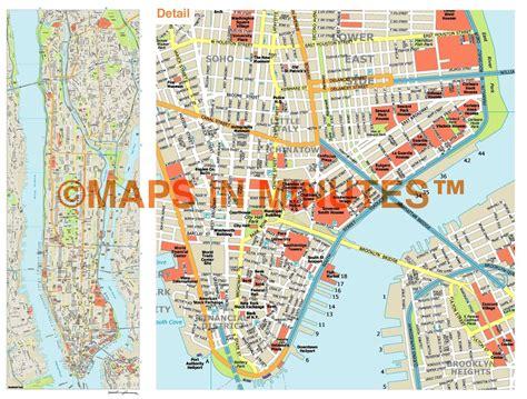 map of manhattan island royalty free manhattan illustrator vector format city map
