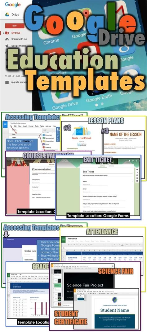 Google Forms Templates Education