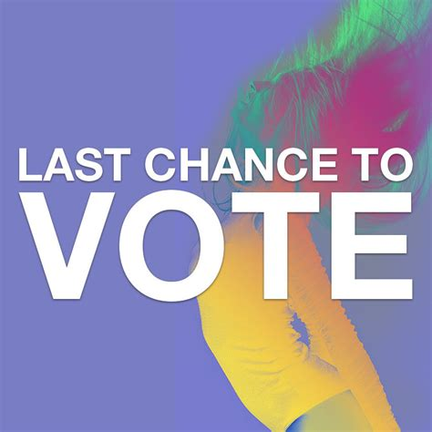 Last Chance To Vote by Dj Awards