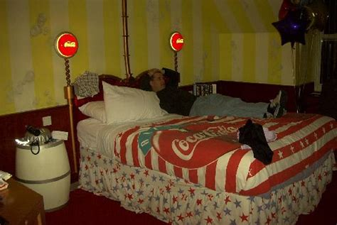 coca cola bedroom coca cola room double bed 2005 picture of alton towers