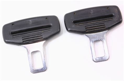 clip belt buckle set of 2 seat belt seatbelt buckle clip vw jetta golf