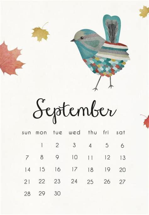 september  calendar mobile wallpaper  calendars